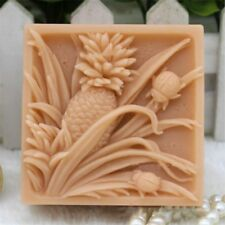 Silicone Soap Bar Mold DIY Craft Candle Mold Flower Soap Silicone Mold Pineapple