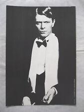 DAVID BOWIE   mini-poster cartonné AF n° 14 NUGERON