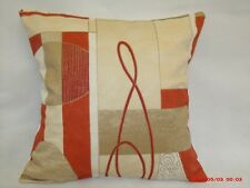 "4 x modern Cushion covers,""Isolo"" 100% cotton,16""x16"""
