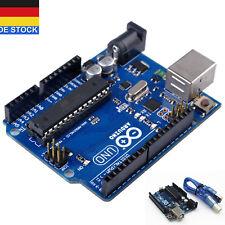 UNO R3 Entwicklungsplatine MEGA328P ATMEGA16U2 Board USB Kabel Für Arduino GE