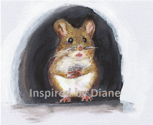Mouse Hole Decal STICKER for Home Door stair Wall Decor Decoration