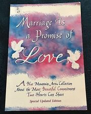 GARY MORRIS. BLUE MOUNTAIN ARTS. MARRIAGE IS A PROMISE OF LOVE. 9780883967591