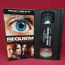 Requiem For A Dream (2000) Vhs Jared Leto Jennifer Connelly Mature Drama