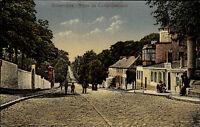 Bonsecours Frankreich ~1910 Route de Condé-Descente Straßenpartie Carte Postale