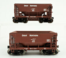LOT OF 2 WALTHERS HO SCALE GREAT NORTHERN ORE CAR  -B