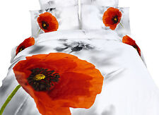 DM493T Dorm room Bedding Set Floral Design Twin XL Duvet Cover by Dolce Mela