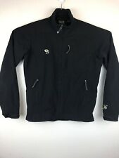 Mountain Hardwear Black Softshell Jacket Sz M Lightweight