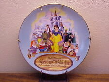 Disney Christmas 1987 Snow White Collector Plate ~ Third Edition