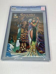 SOULFIRE BEGINNINGS #1 Wizard World Philadelphia 2003 CGC 9.6 Slab Comic Book