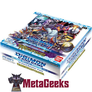 Digimon Card Game Release Special Booster Box 1.0 ENGLISH (new)