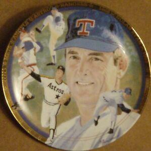 "1993 Nolan Ryan ""The Strikeout Express"" Hamilton Mint Collector Plate -# 2097 S"