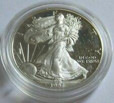 1997-P PROOF AMERICAN SILVER EAGLE COIN ~Semi Key Date~