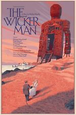 The Wicker Man Laurent Durieux Limited Edition Movie Poster Print Art Mondo