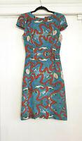 NWT 1.6K Mary Katrantzou  Silk Print Dress, size 8 (UK), 4 (US)