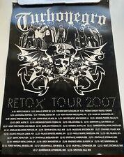 Turbonegro Retox Tour Poster 2007 Rare