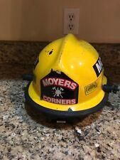 firefighter/fireman helmet Moyers Corners Fire Department (New York)