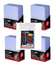 Ultra Pro Carte manches Special S Toploader - Super clair Épais (7.6cm x 10.2cm)