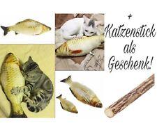 Katzenspielzeug Graskarpfen Fisch Spielzeug Kratzbaum 20cm Katzenminze Kissen
