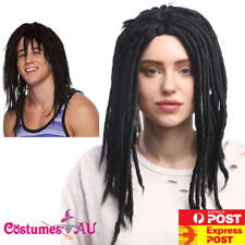 Mens Dreadlock DREADS Wig Reggae Black Rasta Jamaican Bob Marley Dreadlocks Wigs