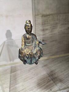 SMALL RARE WEI DYNASTY BRONZE BUDDHA