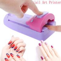 us DIY Nail Art  Machine Printing Manicure Set with 6 Pattern Plates
