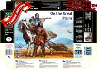 Master Box 35189 Indian Wars Series - On the Great Plains, Plastic Kit 1/35