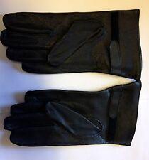 Französische Army Handschuhe BUNDESWEHR LEDERHANDSCHUHE schwarz  Gr.M/L (8,5)