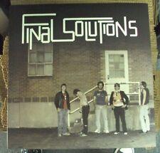 FINAL SOLUTIONS Disco Eraser LP OOP red swirl vinyl garage-punk Jay Reatard