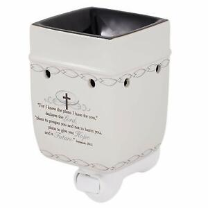 Elanze For I Know The Plans I Have for You Jeremiah 29:11 Plug-in Wax Oil Warmer