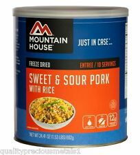 1 - Can - Sweet & Sour Pork - Mountain House Freeze Dried Emergency Food Supply