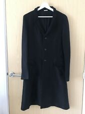 Comme des Garcons Homme Plus Rare Black Coat Made in Japan Size S Trench
