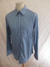 Camisa Hugo Boss Azul Talla 42 à - 69%