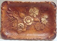 Vintage Floral - Pressed Wood/Composite Sundry Tray – Multi Prod Inc - 1944