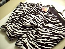 Joe Boxer Womens Zebra Lounge Pajama Pants L Sleep Halloween