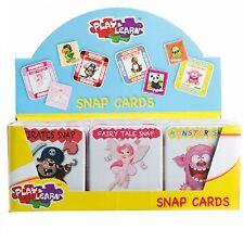 Snap jugando a las cartas en caso de estaño Lindos Diseños Syles que empareja pares Juego Diversión De Memoria