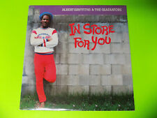 """1987 Reggae Roots Dub LP EX+ """"In Store For You"""" ALBERT GRIFFITHS Heartbeat HTF"""