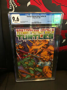 Teenage Mutant Ninja Turtles #6 CGC 9.6 1986 WP