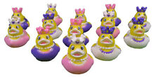 Princess Rubber Ducks Girls Party Favors Duckies Lot of 12