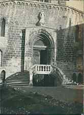 Grasse, partie de l'église Vintage citrate printDepuis le xviie siècle la