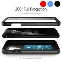 For LG G6 Case w/Built-in-Screen Protector Double Layers Shockproof Cover