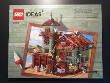 LEGO® Ideas (21310) 1 x Bauanleitung aus Set Alter Angelladen