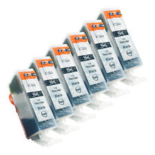 6 BLACK PGI-220 NEW Ink Cartridges for Canon Pixma MX860 MX870 MP560 with CHIP