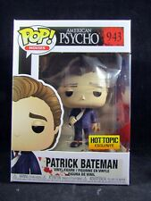 Funko Pop Movies 943 American Psycho Patrick Bateman Hot Topic