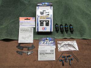 Tamiya 42305 TRF Super Short Big Bore Damper TA07 Ca Tower TRF 418 Sway Bar Set