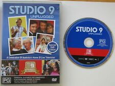STUDIO 9 UNPLUGGED...SPECIAL DVD EDITION ALL REGION PAL DVD