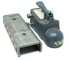 "Bulldog A256 Adjustable Coupler - 14000lb - For 2-5/16"" Ball + Hitch Elevator"