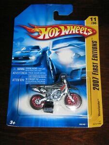 Hot Wheels 2007 First Edition  #11 GREY WASTELANDER  with Red Spoke Wheels