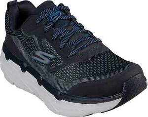 NEW Mens SKECHERS Max Cushioning Premier Navy MESH Running Shoes AUTHENTIC