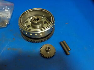 ARCTIC CAT TRV 500 2013 FLYWHEEL/ ONE WAY BEARING AND RING GEAR GOOD SHAPE