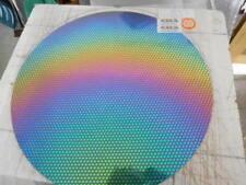 "3/""Sq Dichroic Glass:CBS 90 COE Black Cherry Fusion Pattern on Thin Clear"